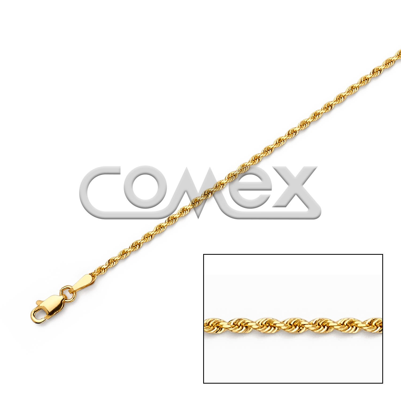 014 Solid Rope Diamond Cut (1.8mm)