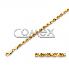 030 Solid Rope Diamond Cut (4.0mm)