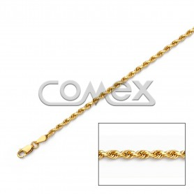 018 Solid Rope Diamond Cut (2.5mm)